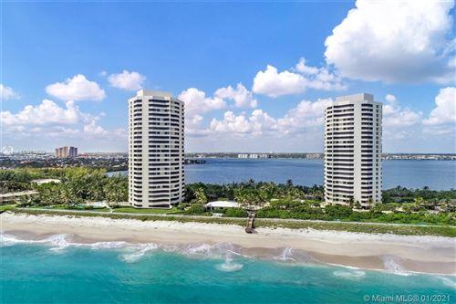 Photo of 5070 N Ocean Dr #19D, Riviera Beach, FL 33404 (MLS # A10984829)