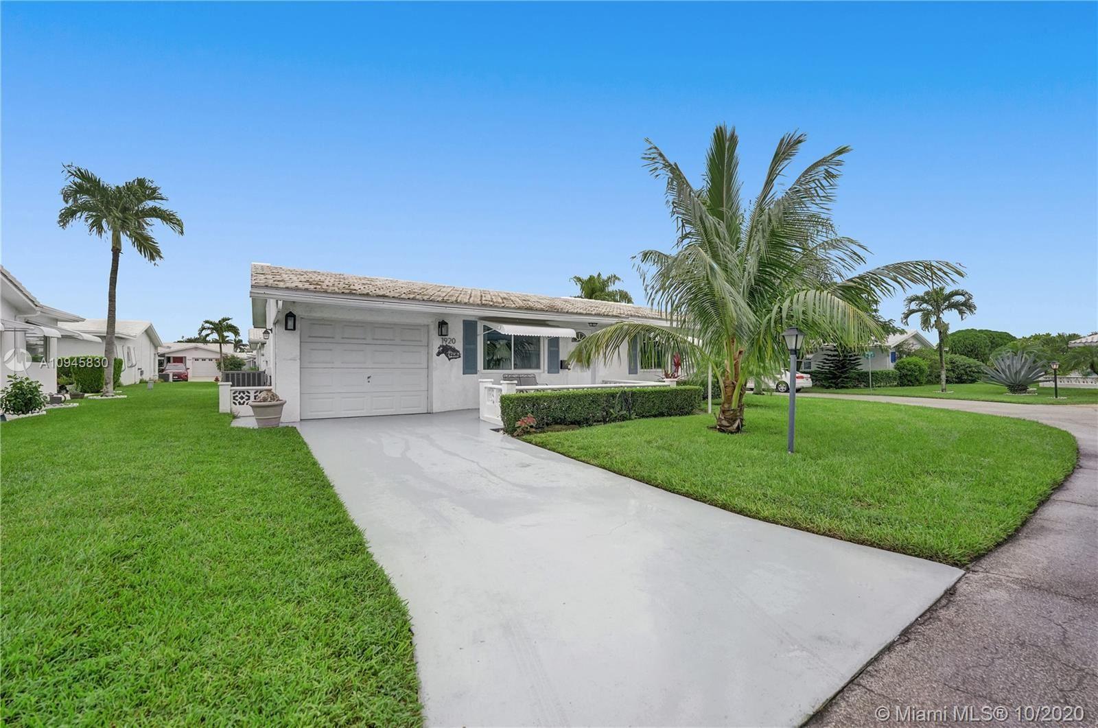 1920 SW 16th Ave, Boynton Beach, FL 33426 - #: A10945830