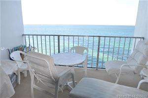Photo of 2301 S Ocean Dr #1603, Hollywood, FL 33019 (MLS # A10551831)