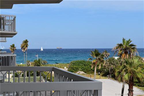 Photo of 125 Ocean Ave #402, Palm Beach Shores, FL 33404 (MLS # A11051831)