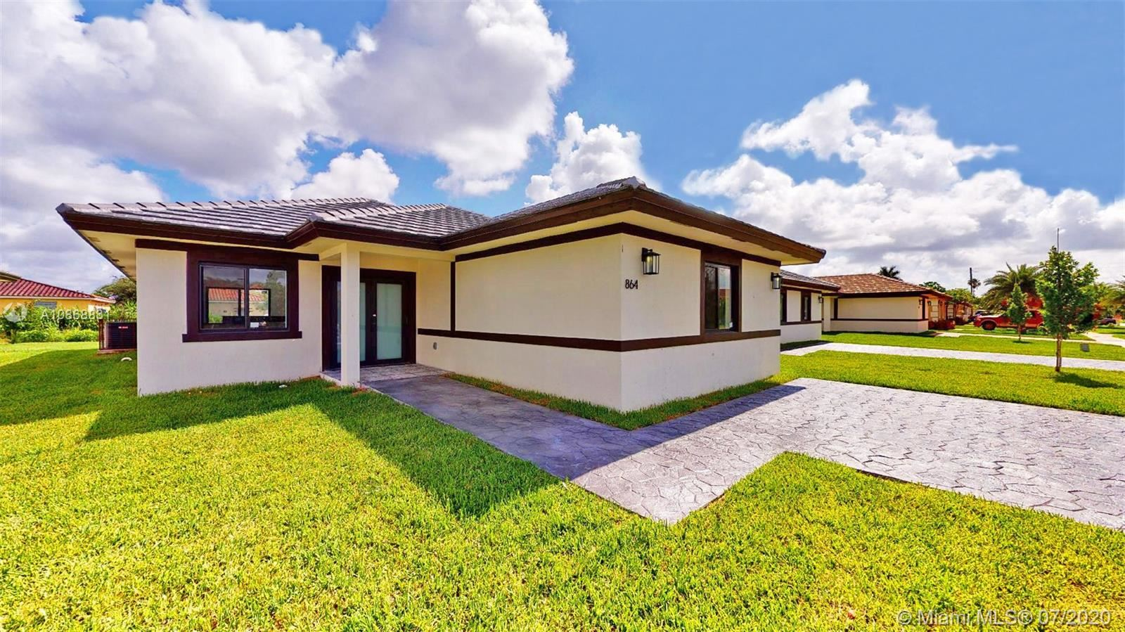 864 SW 5 ST, Florida City, FL 33034 - #: A10868831