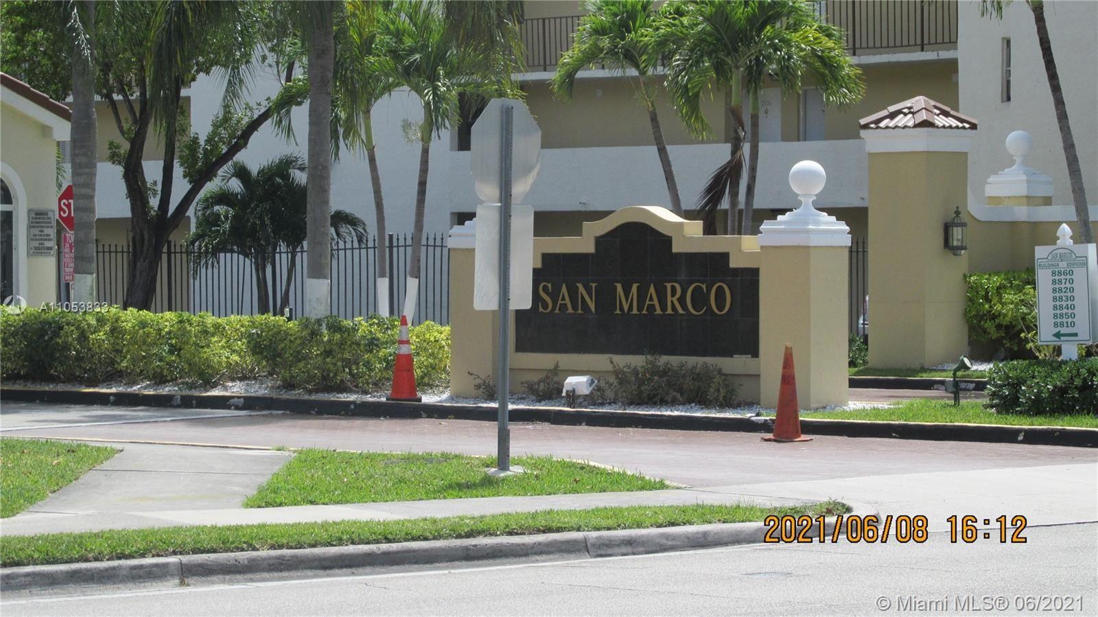 8810 Fontainebleau Blvd #210, Miami, FL 33172 - #: A11053833