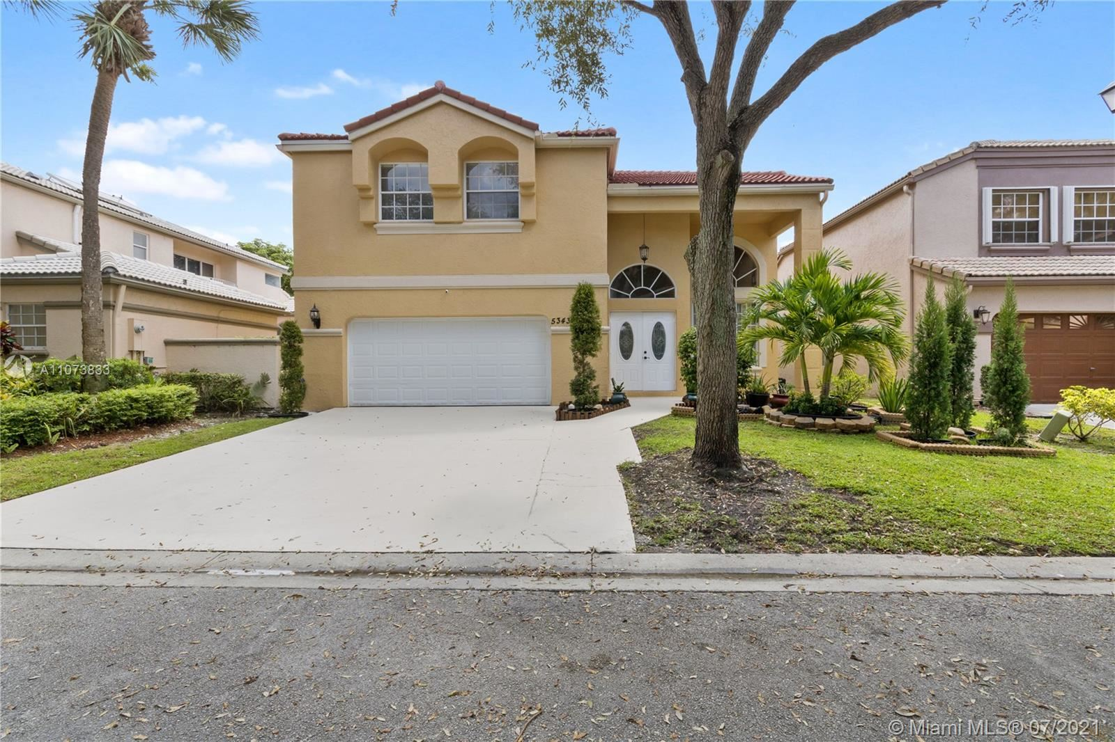 5343 NW 106th Dr, Coral Springs, FL 33076 - #: A11073833