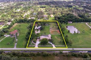 Photo of 14421 Old Sheridan St, Southwest Ranches, FL 33330 (MLS # A10721838)