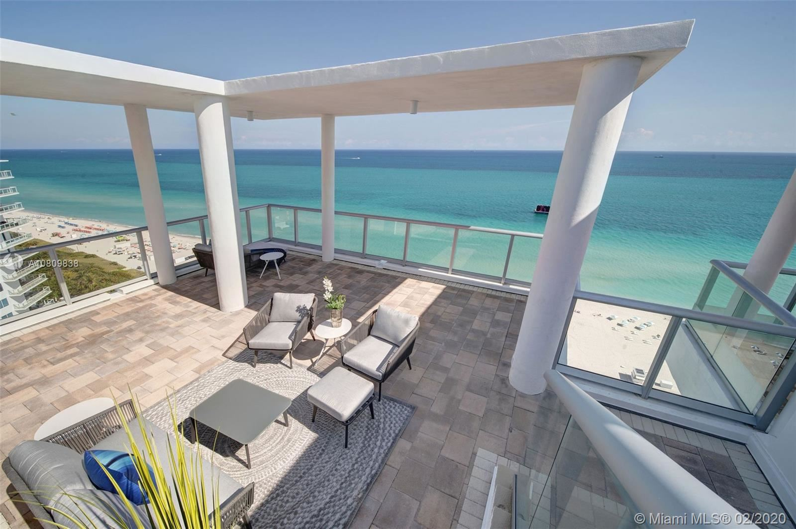 Photo 1 of Listing MLS a10809838 in 3737 Collins Ave #PH-4 Miami Beach FL 33140