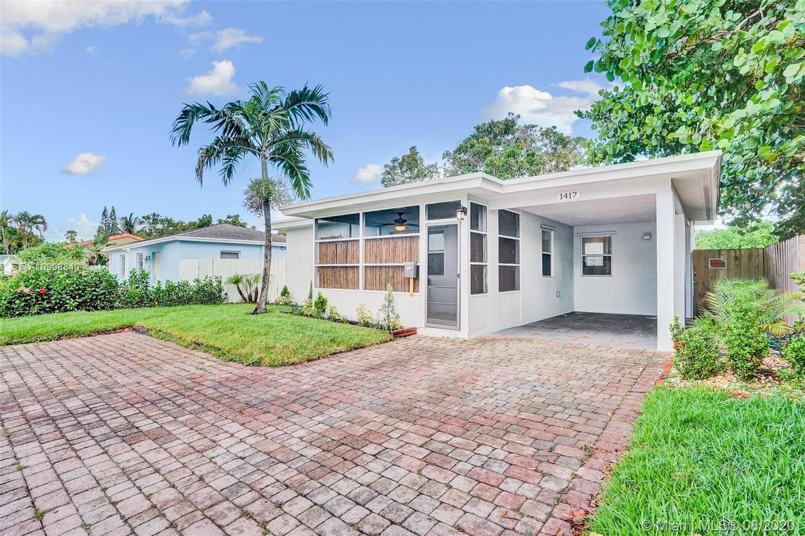 1417 N Andrews Ave, Fort Lauderdale, FL 33311 - #: A10908840
