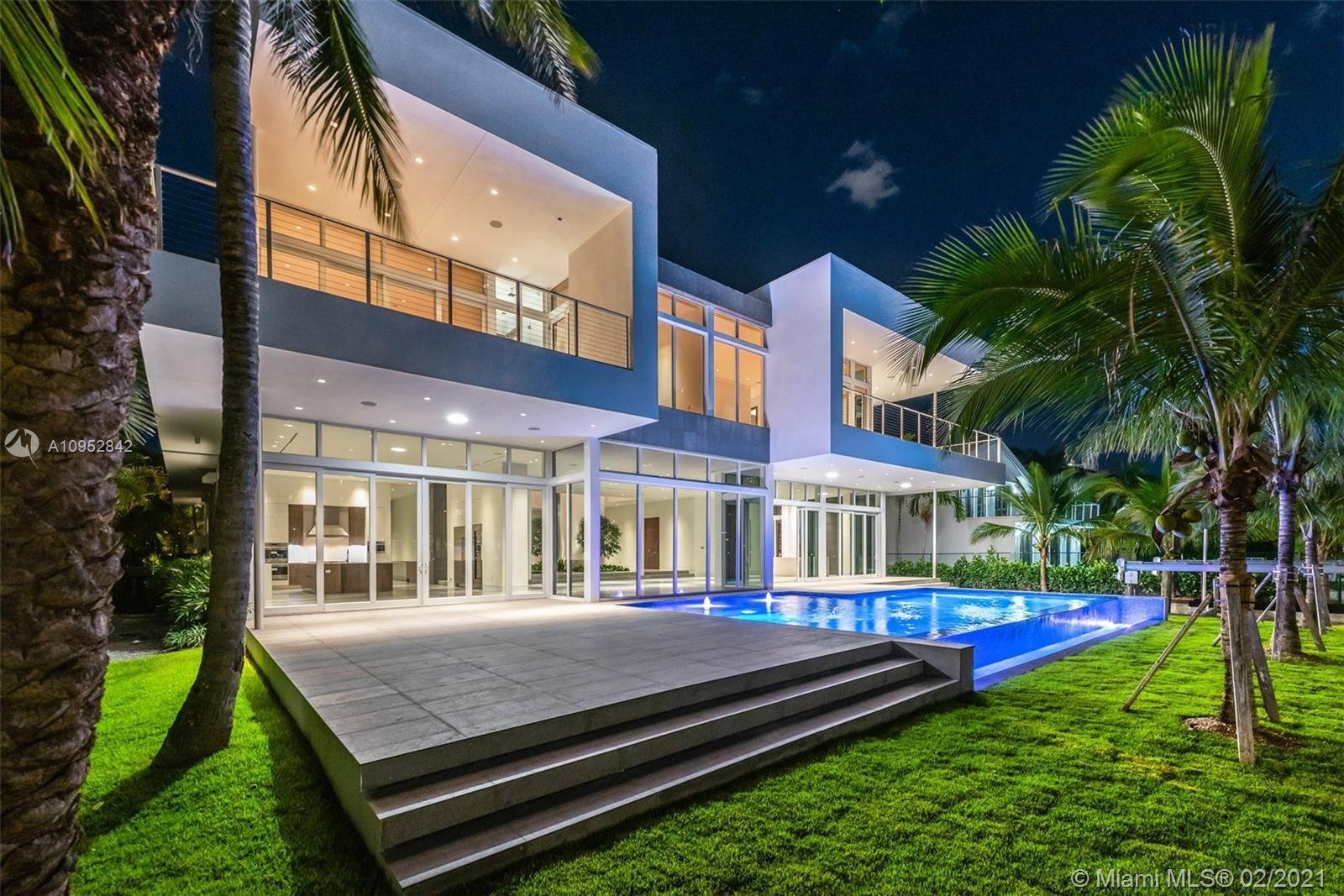 Photo of 373 Center Island Drive, Golden Beach, FL 33160 (MLS # A10952842)