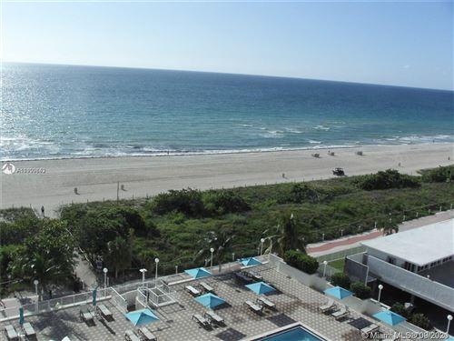 Photo of 5701 Collins Ave #908, Miami Beach, FL 33140 (MLS # A11100843)