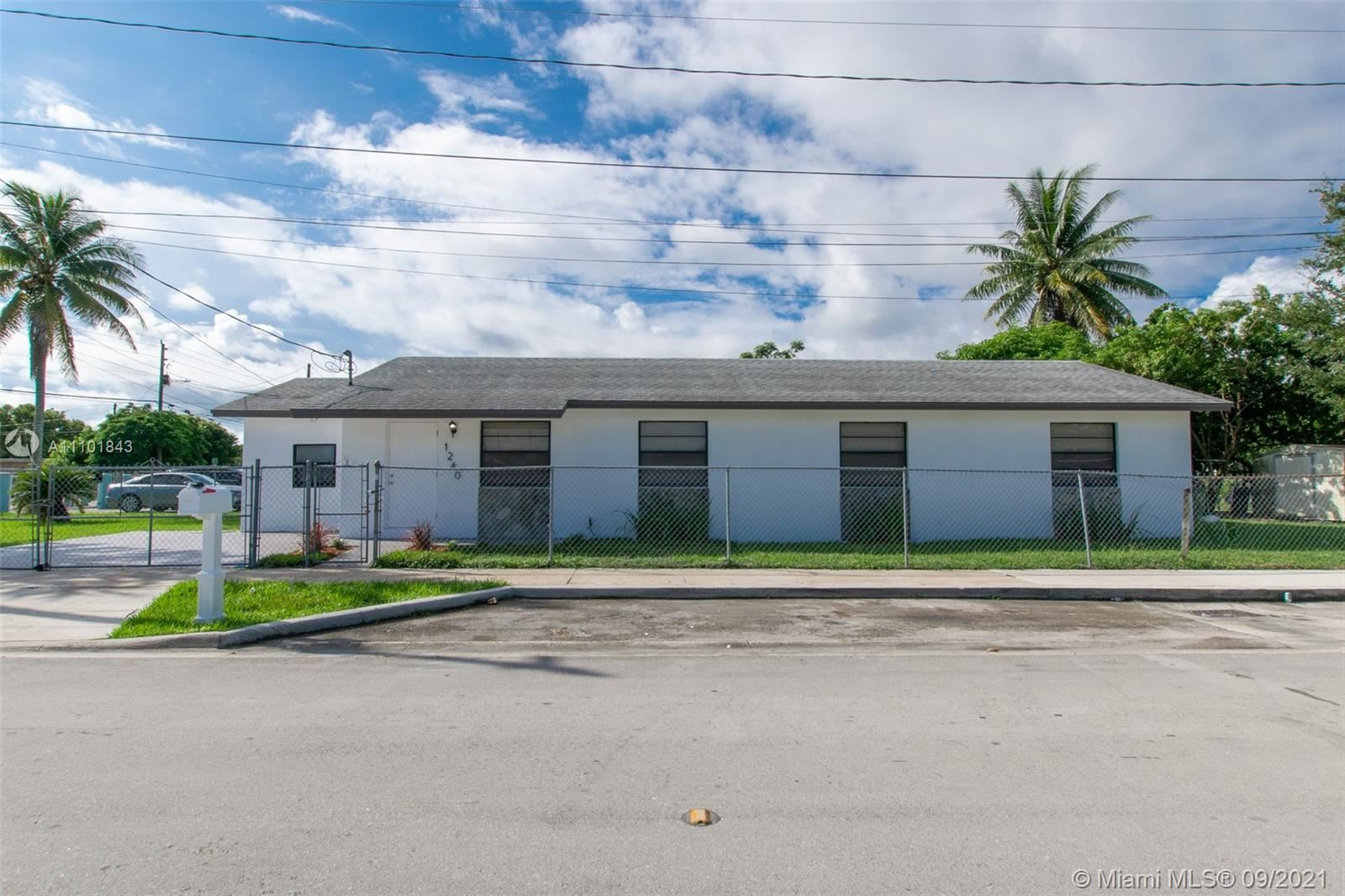 1240 NW 6th Ave, Florida City, FL 33034 - #: A11101843