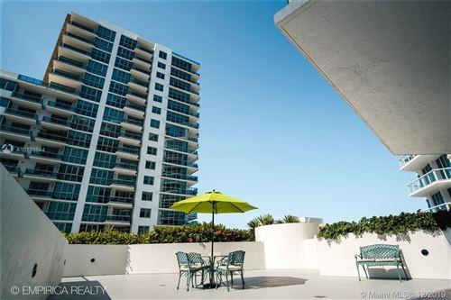 Photo of 6515 Collins Ave #610, Miami Beach, FL 33141 (MLS # A10776844)