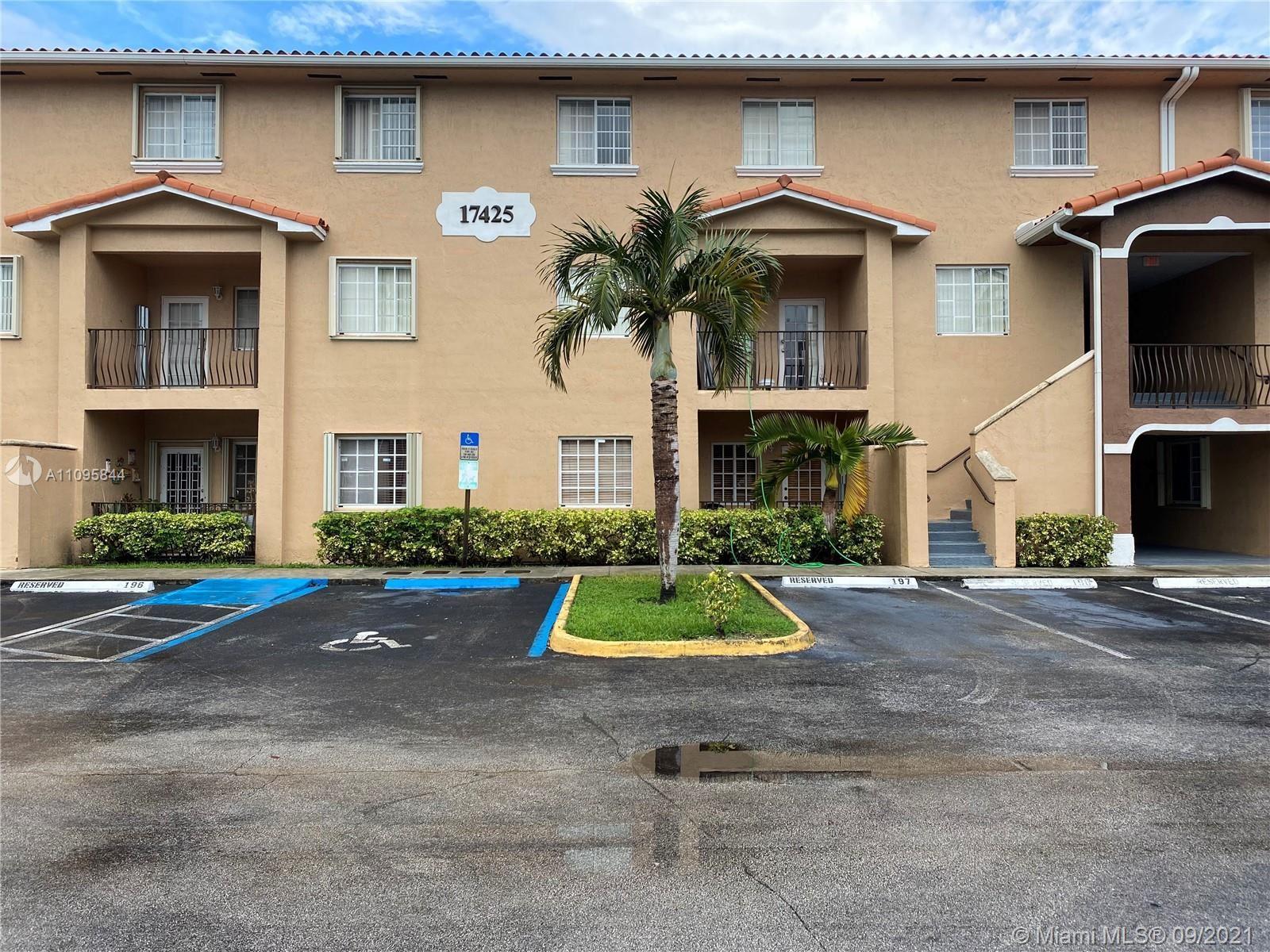 17425 NW 75th Pl #105, Hialeah, FL 33015 - #: A11095844