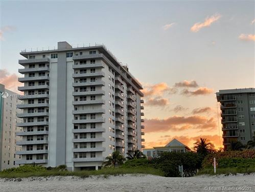 Photo of 9273 Collins Ave #706, Surfside, FL 33154 (MLS # A11033845)