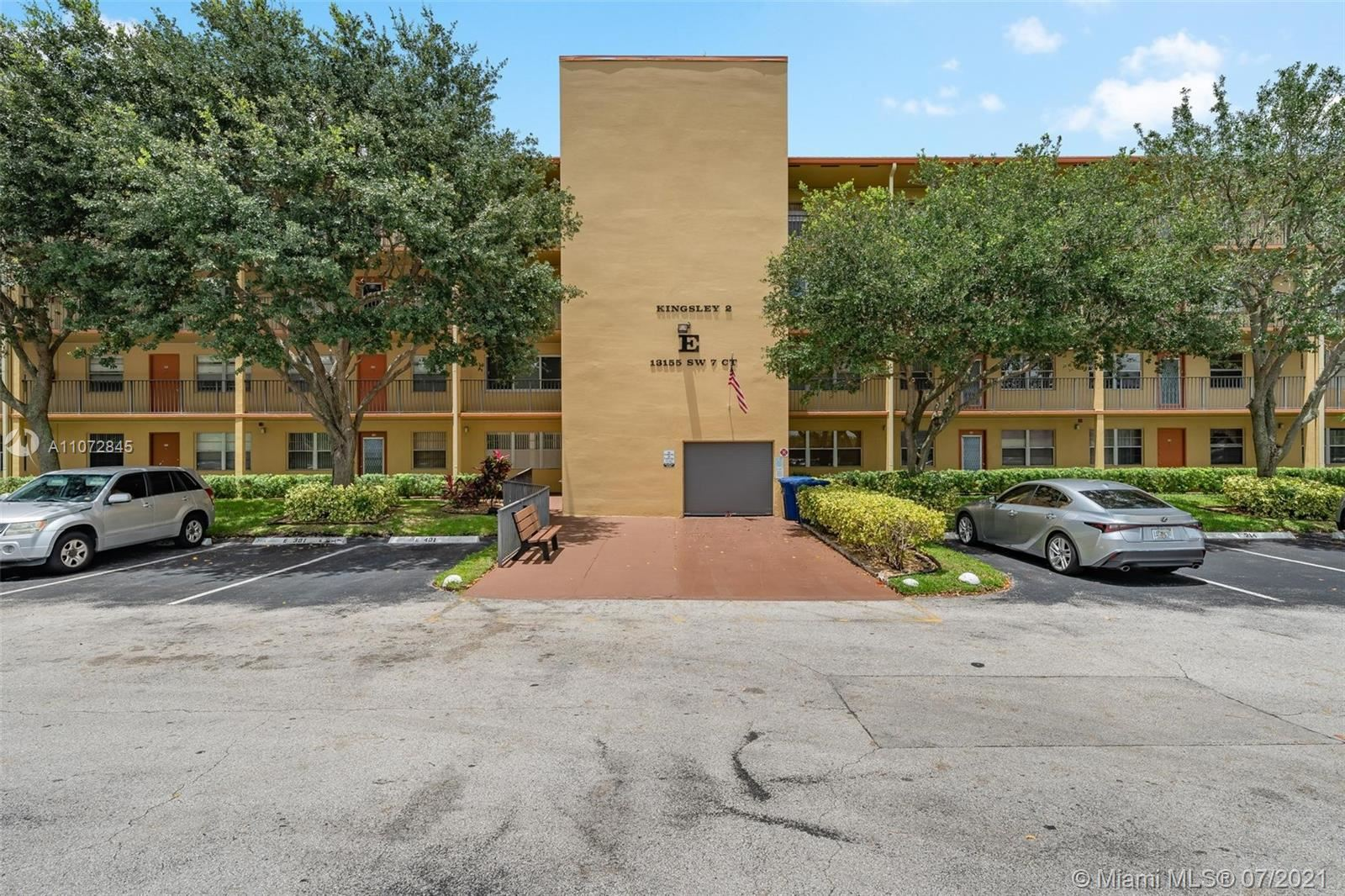 13155 SW 7th Ct #211E, Pembroke Pines, FL 33027 - #: A11072845