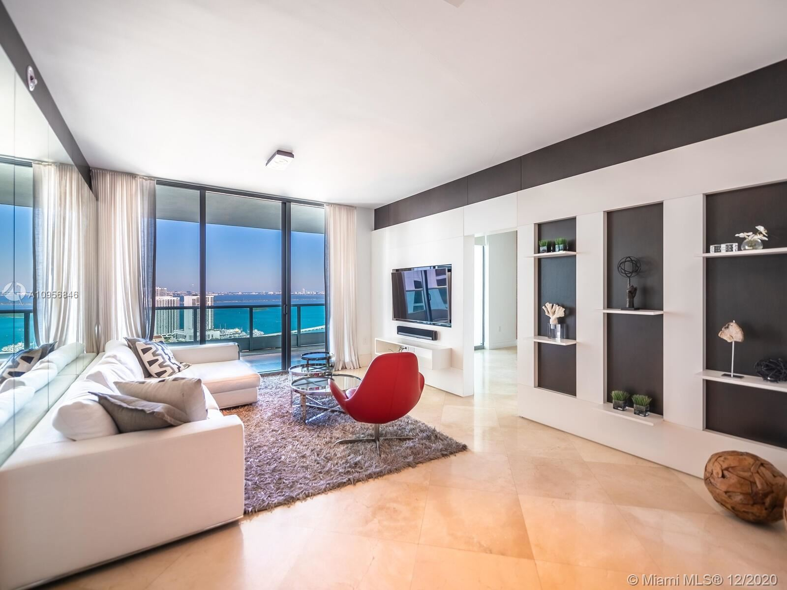 900 Biscayne Blvd #3708, Miami, FL 33132 - #: A10956846