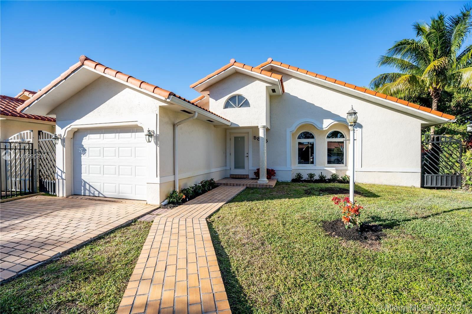 5865 SW 35th St, Miami, FL 33155 - #: A10990846