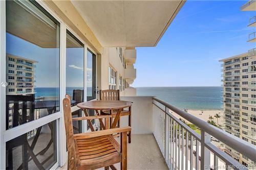 Photo of 133 N Pompano Beach Blvd #1401, Pompano Beach, FL 33062 (MLS # A10875849)