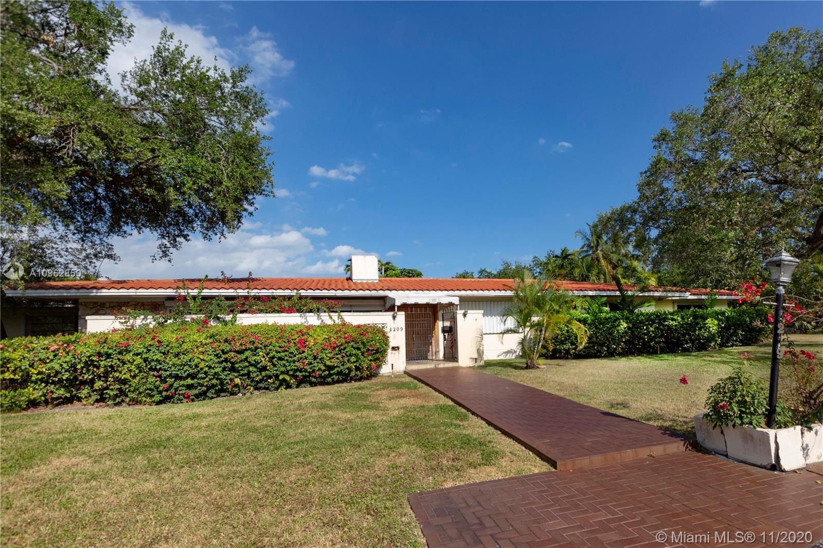 4209 Granada Blvd, Coral Gables, FL 33146 - #: A10962850