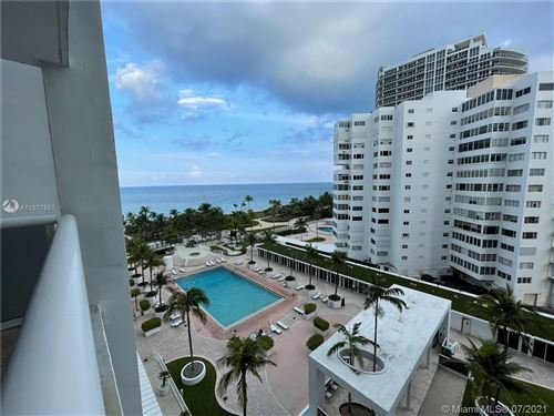 Photo of 10275 SE Collins Ave #717, Bal Harbour, FL 33154 (MLS # A11077851)