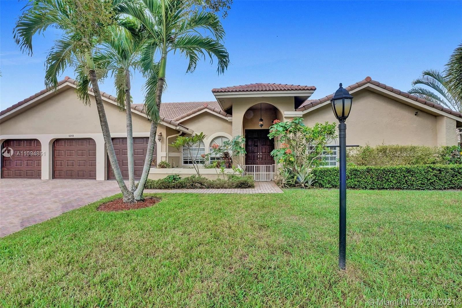 5248 NW 89th Dr, Coral Springs, FL 33067 - #: A11094851