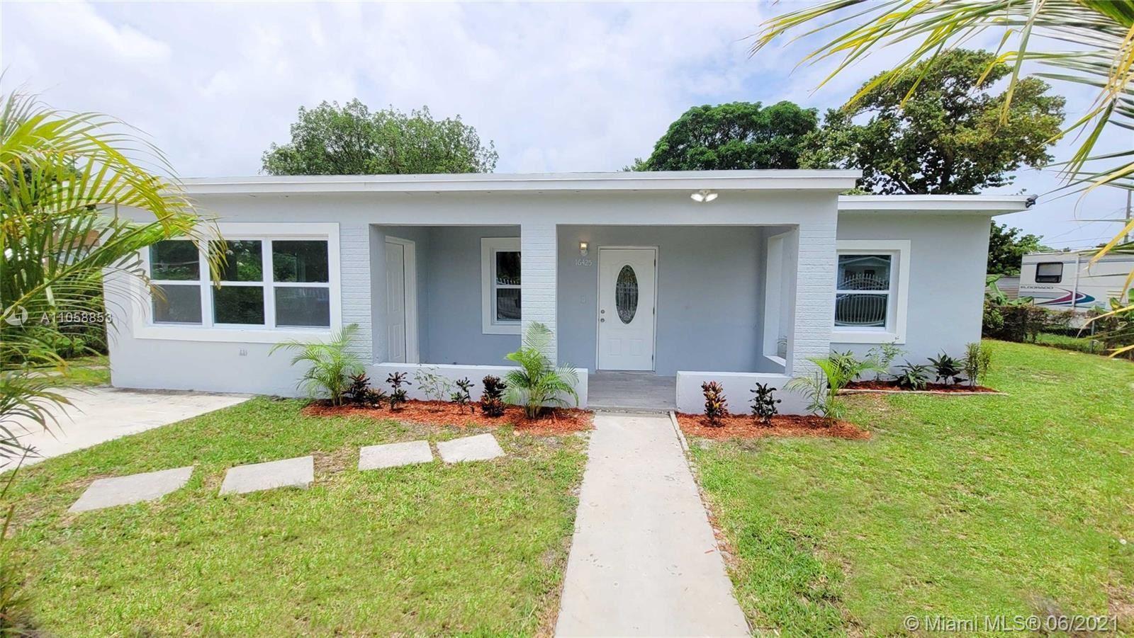 16425 NW 162nd Street Rd, Miami Gardens, FL 33054 - #: A11058853