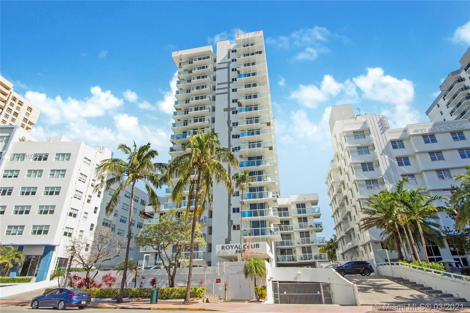 2457 Collins Ave #408, Miami Beach, FL 33140 - #: A11005854