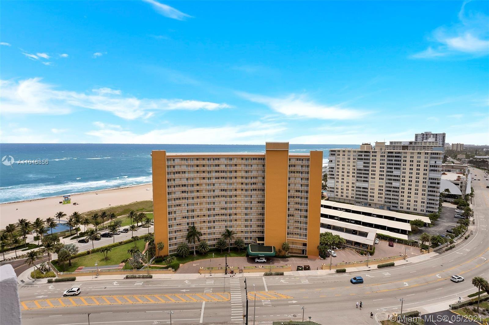 405 N Ocean Blvd #1826, Pompano Beach, FL 33062 - #: A11046856