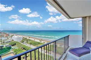 Photo of 1201 S Ocean Dr #1701S, Hollywood, FL 33019 (MLS # A10660858)