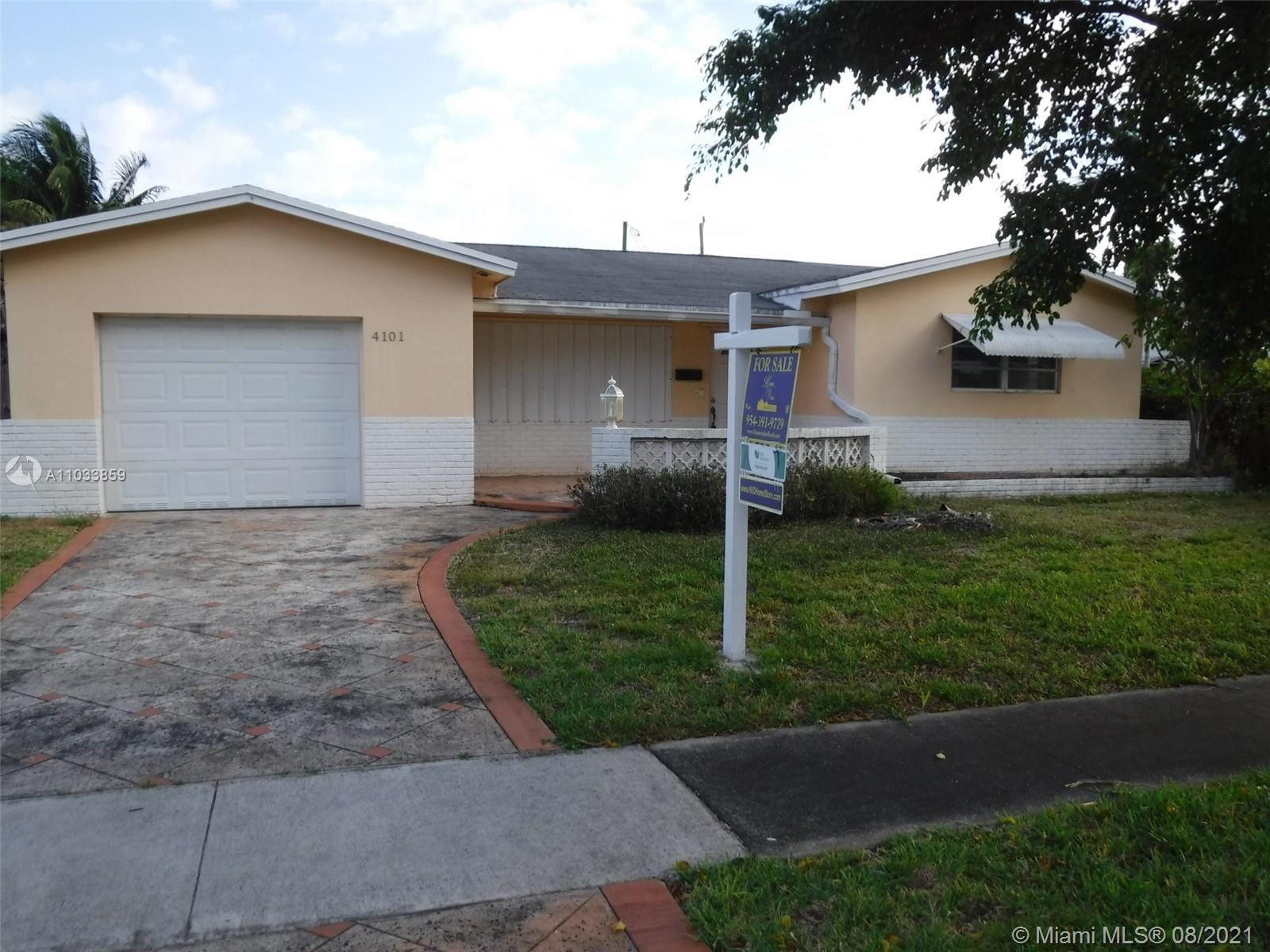 4101 Monroe St, Hollywood, FL 33021 - #: A11033859
