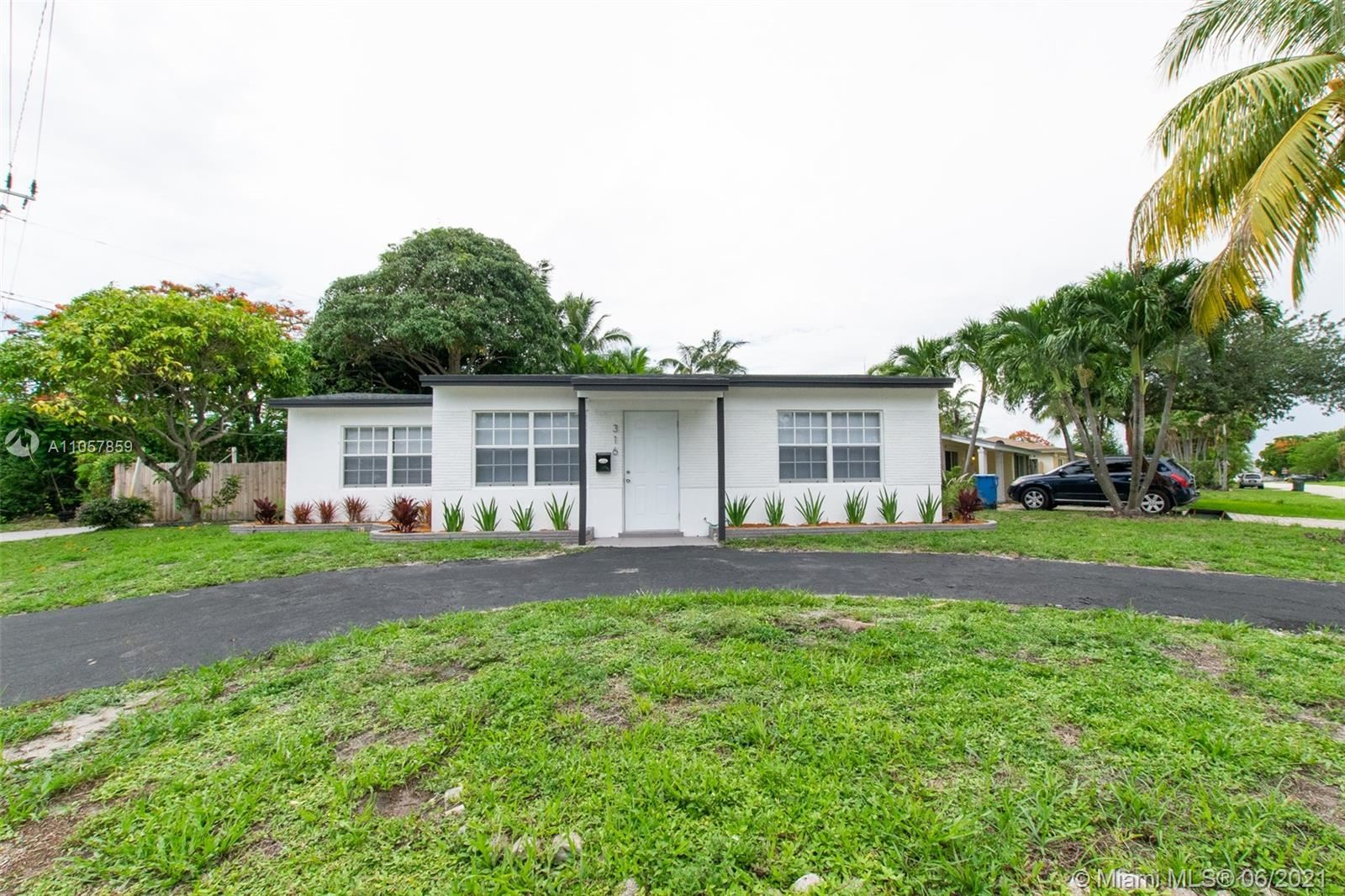 316 NW 47th St, Oakland Park, FL 33309 - #: A11057859
