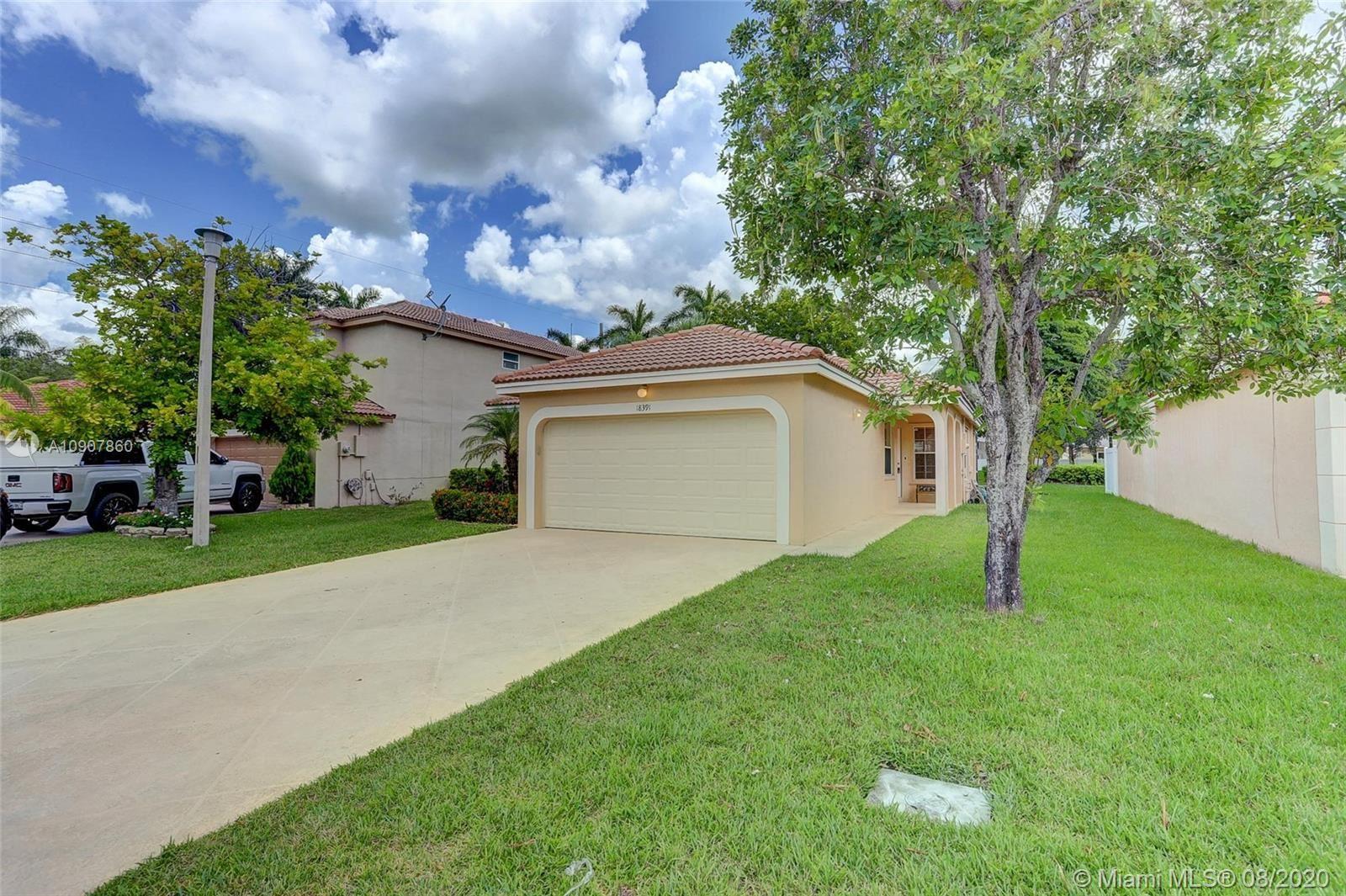 18391 NW 8th St, Pembroke Pines, FL 33029 - #: A10907860