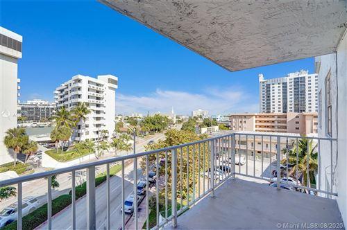 Photo of 6801 W Indian Creek Dr #507, Miami Beach, FL 33141 (MLS # A10839866)