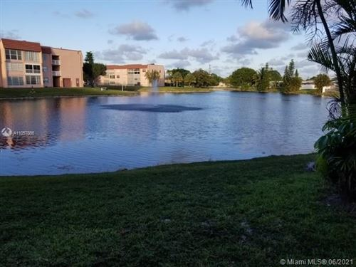 Photo of 9440 Sunrise Lakes Blvd #108, Sunrise, FL 33322 (MLS # A11057866)