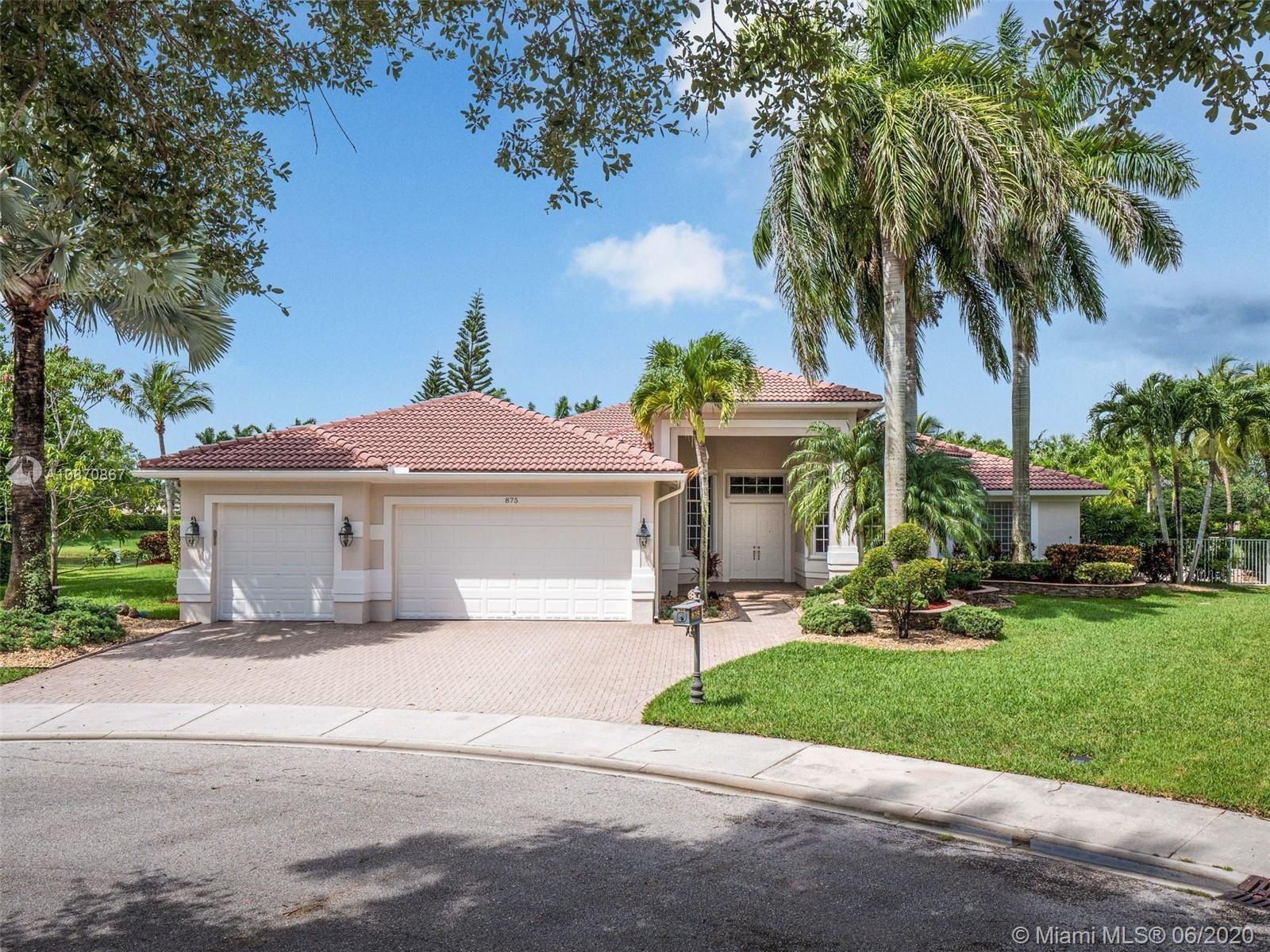 875 Tradewinds Bnd, Weston, FL 33327 - #: A10870867