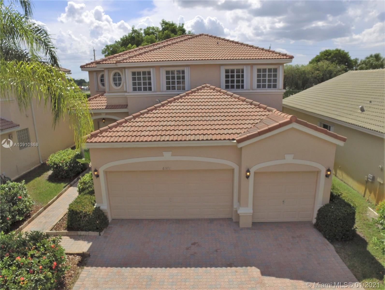 6371 SW 195th Ave, Pembroke Pines, FL 33332 - #: A10910868