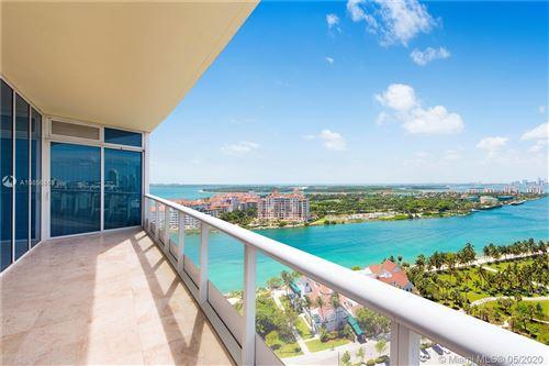 Photo of 100 S Pointe Dr #1601, Miami Beach, FL 33139 (MLS # A10856869)
