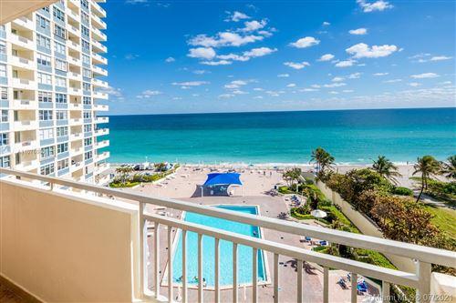 Photo of 3180 S Ocean Dr #715, Hallandale Beach, FL 33009 (MLS # A11076869)