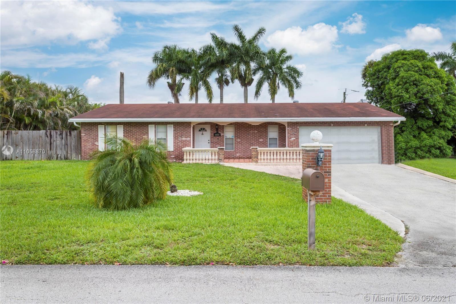 Photo of 6451 SW 56th St, Davie, FL 33314 (MLS # A11058870)