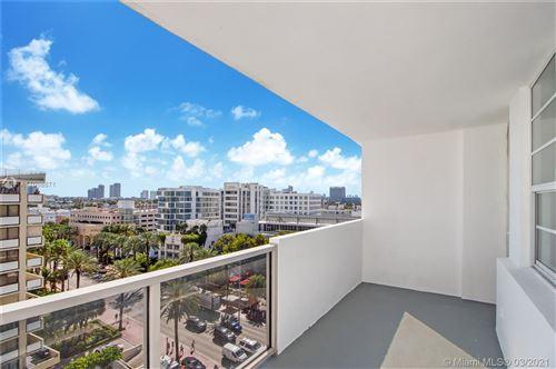 Photo of 100 Lincoln Rd #907, Miami Beach, FL 33139 (MLS # A11008871)