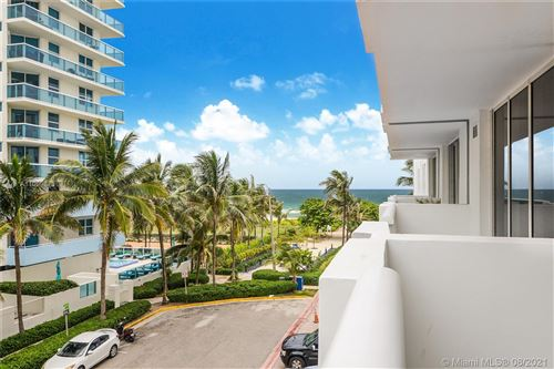 Photo of 9195 Collins Ave #409, Surfside, FL 33154 (MLS # A11089873)