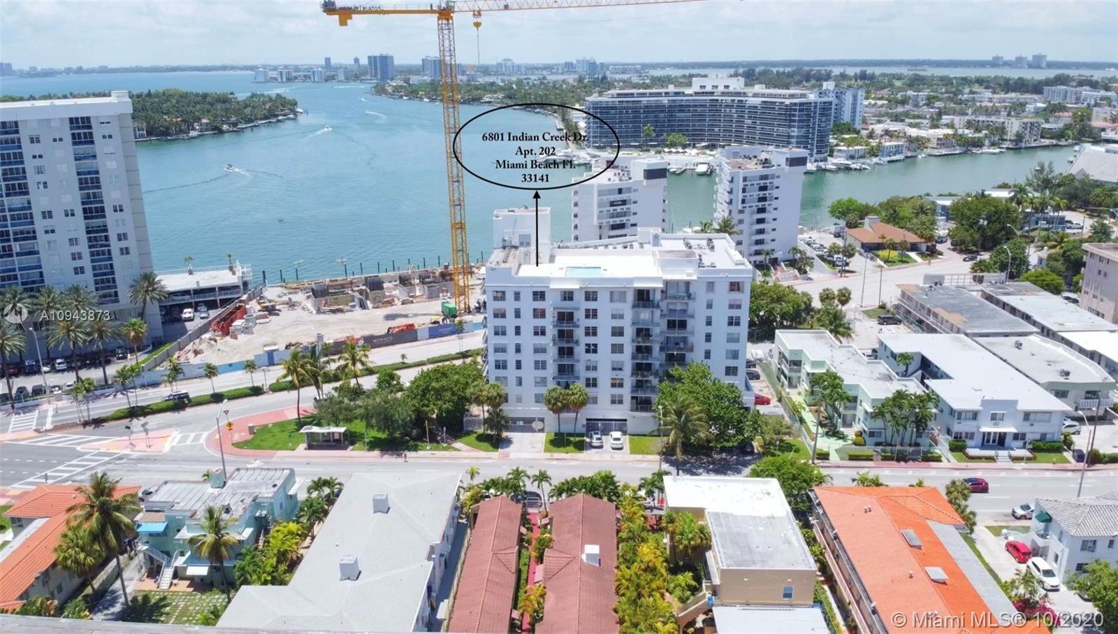6801 Indian Creek Dr #202, Miami Beach, FL 33141 - #: A10943873