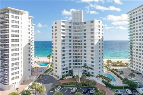 Photo of 3600 Galt Ocean Dr #10C, Fort Lauderdale, FL 33308 (MLS # A11087874)