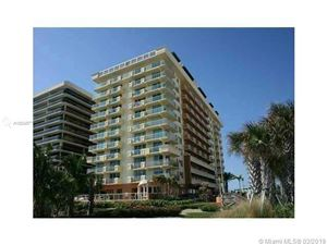Photo of 9499 Collins Ave #611, Surfside, FL 33154 (MLS # A10634877)