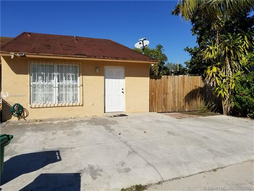 Photo of Listing MLS a10803881 in 18615 NW 45th Ave Miami Gardens FL 33055