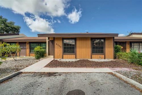 Photo of 2340 Allamanda Court, Pembroke Pines, FL 33026 (MLS # A11113881)
