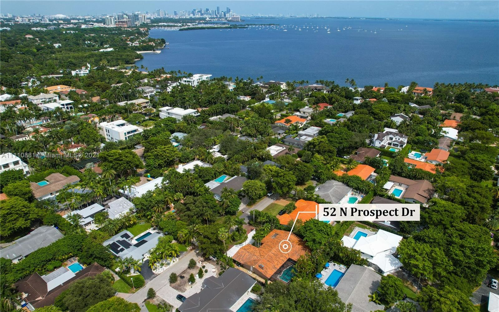 Photo of 52 N Prospect Dr, Coral Gables, FL 33133 (MLS # A11110881)