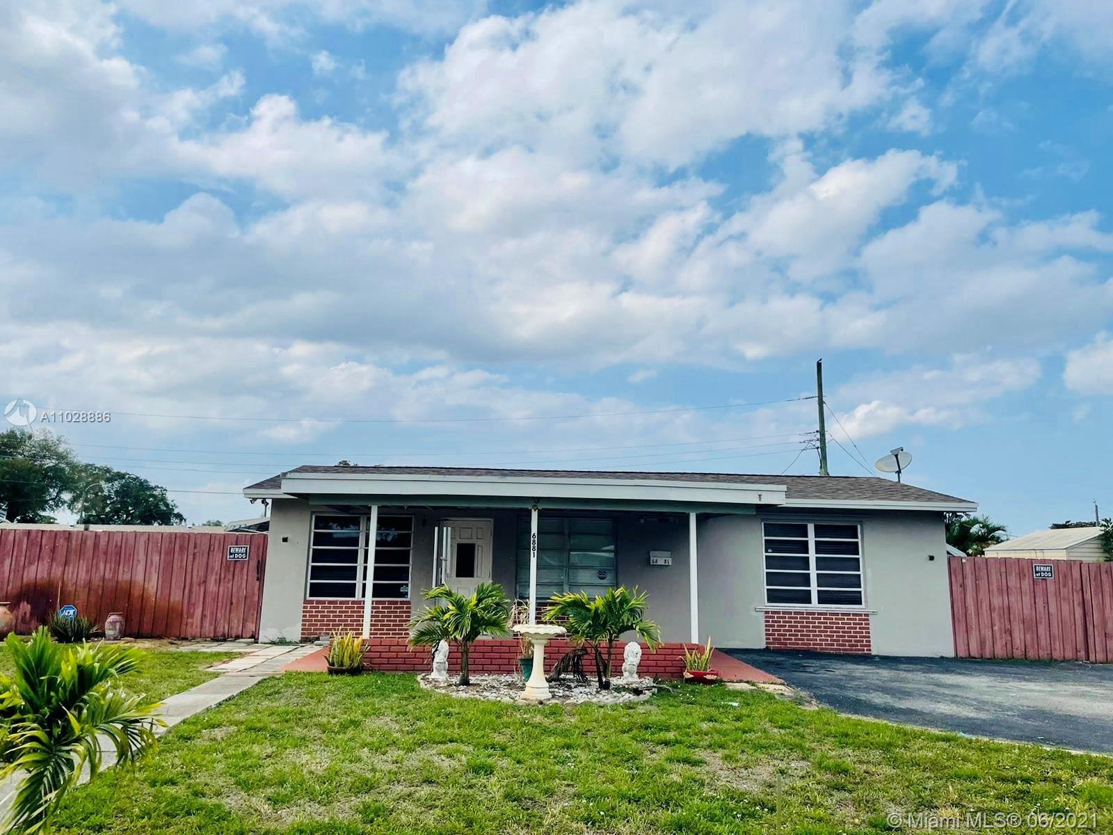 6881 SW 4th St, Pembroke Pines, FL 33023 - #: A11028886