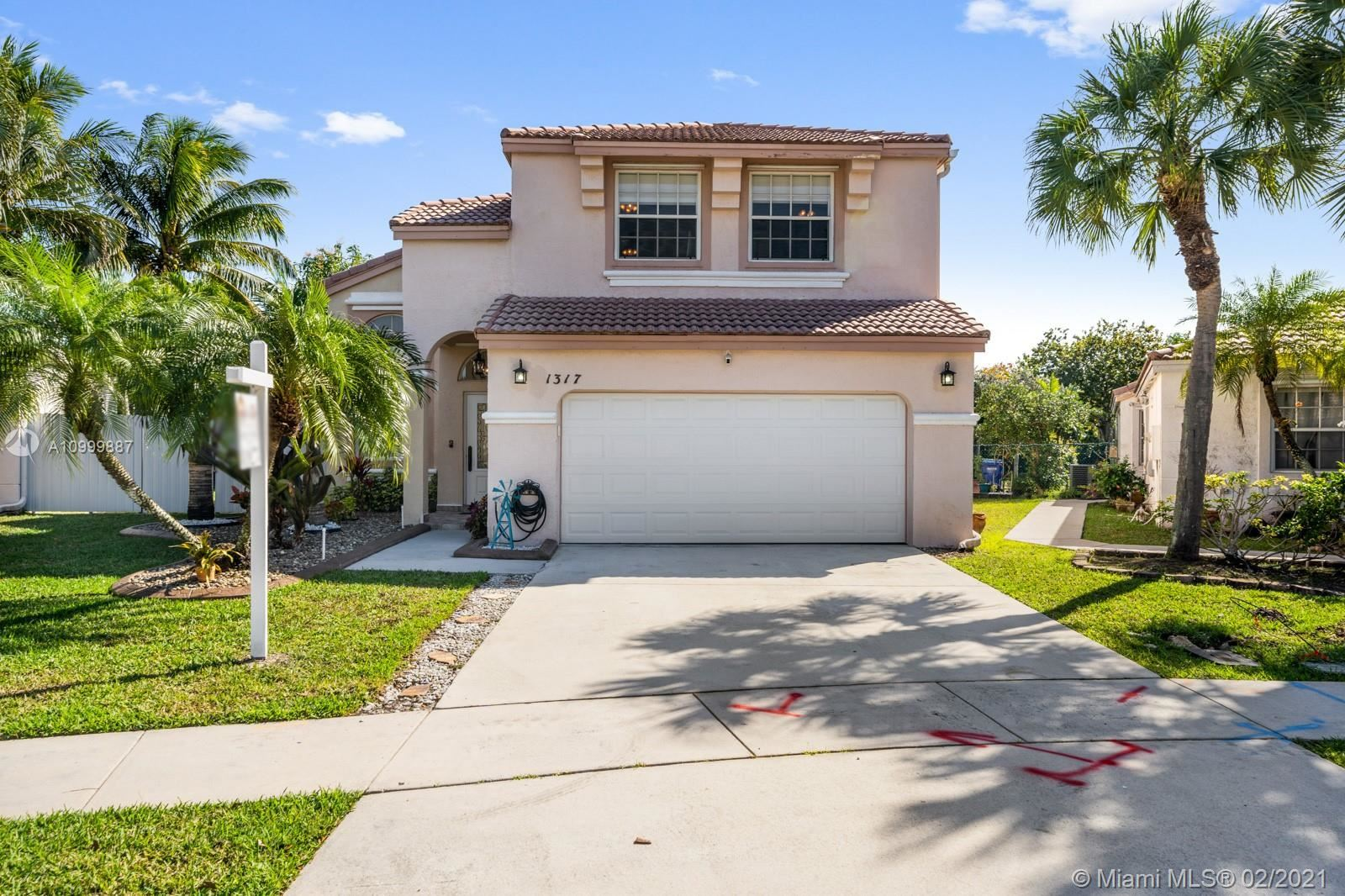 1317 NW 156th Ave, Pembroke Pines, FL 33028 - #: A10999887
