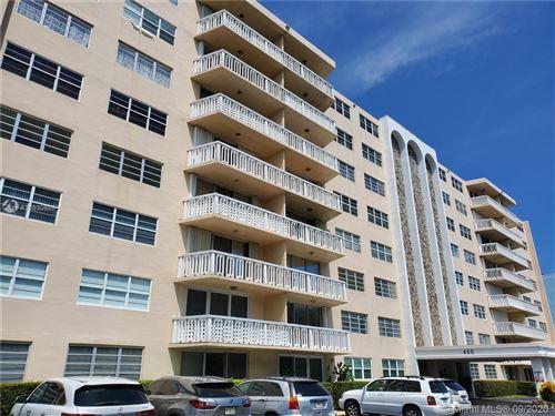 Photo of 400 NE 12th Ave #106, Hallandale Beach, FL 33009 (MLS # A10930888)
