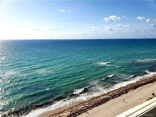 Photo of 1890 S Ocean Dr #1504, Hallandale Beach, FL 33009 (MLS # A11042889)