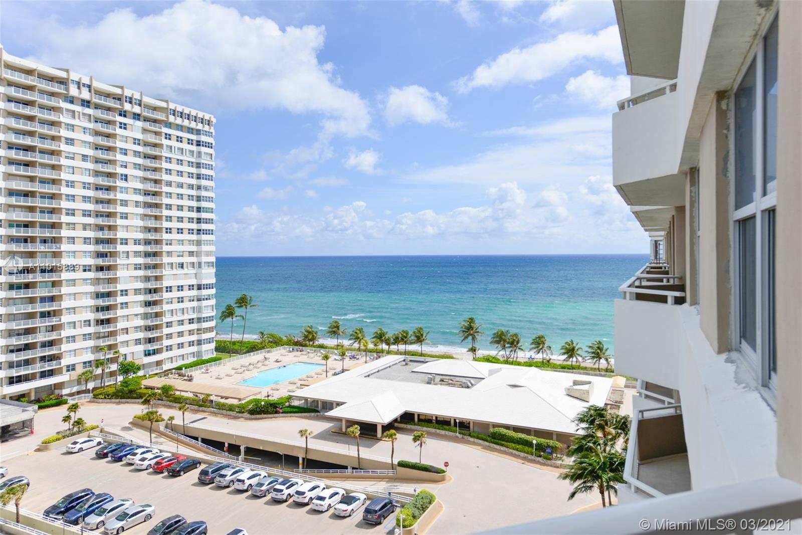 1980 S Ocean Dr #10K, Hallandale Beach, FL 33009 - #: A11015889